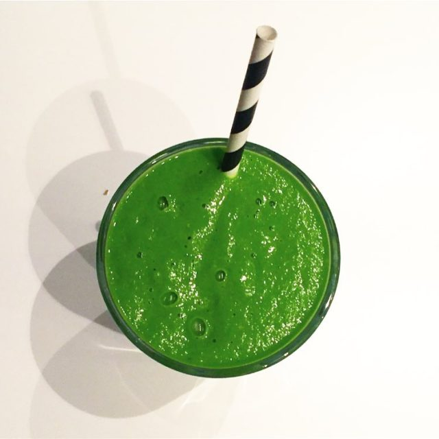 New Green Beauty smoothie recipe up on the blogsmoothies arehellip